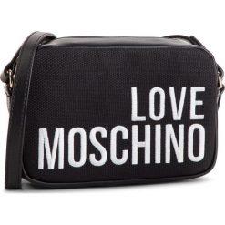 Torebka LOVE MOSCHINO - JC4153PP17LO0000 Nero. Czarne listonoszki damskie marki Love Moschino, z materiału. Za 589,00 zł.