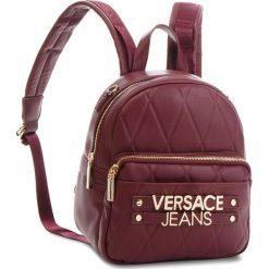 Plecak VERSACE JEANS - E1VSBBL2 70712 331. Czerwone plecaki damskie Versace Jeans, z jeansu, eleganckie. W wyprzedaży za 549,00 zł.