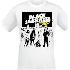T-shirty męskie: Black Sabbath Yellow Moon T-Shirt biały