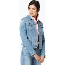 Bomberki damskie: BOSS Casual - Damska kurtka jeansowa – J90 Portland, niebieski