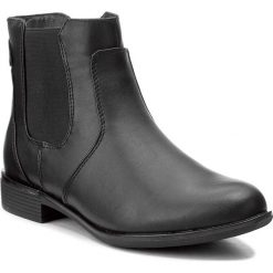 Sztyblety JENNY FAIRY - WYL1090A-3 Czarny 1. Czarne buty zimowe damskie Jenny Fairy, z materiału, na obcasie. Za 119,99 zł.