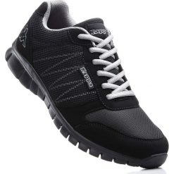 Buty sportowe Kappa bonprix czarny. Czarne buty sportowe męskie bonprix, na sznurówki. Za 129,99 zł.