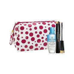 Kosmetyczki damskie: Collistar Mascara Design Kit Zestaw dla kobiet  Tusz do rzęs 11 ml + Płyn do demakijażu Gentle Two Phase 50 ml + Kosmetyczka