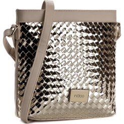 Torebka NOBO - NBAG-C3670-C023 Beżowy Złoty. Brązowe torebki klasyczne damskie Nobo, ze skóry ekologicznej. W wyprzedaży za 129,00 zł.