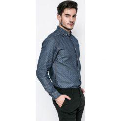 Produkt by Jack & Jones - Koszula. Szare koszule męskie na spinki PRODUKT by Jack & Jones, l, z bawełny, button down, z długim rękawem. W wyprzedaży za 79,90 zł.