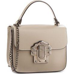 Torebka CREOLE - K10525  Ciemny Beż L113. Szare torebki klasyczne damskie Creole, ze skóry. W wyprzedaży za 159,00 zł.