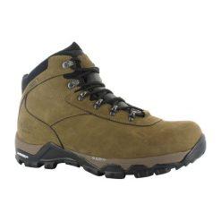 Buty trekkingowe męskie: Hitec Multiplex Buty męskie Altitude OX I WP Smokey Brown r. 39