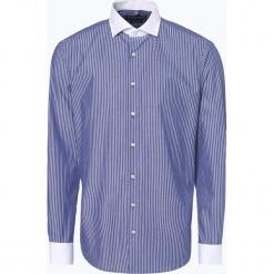 Finshley & Harding - Koszula męska, niebieski. Białe koszule męskie na spinki marki bonprix, z klasycznym kołnierzykiem. Za 149,95 zł.