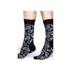 Skarpetki Happy Socks  PAI01-9000. Czarne skarpetki męskie marki Happy Socks, z bawełny. Za 24,43 zł.