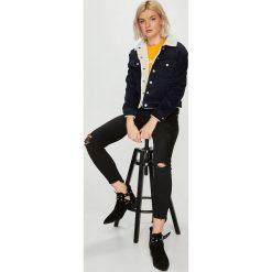 Pepe Jeans - Kurtka. Szare kurtki damskie jeansowe Pepe Jeans, l. W wyprzedaży za 349,90 zł.