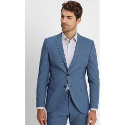 Selected Homme SLHONEMYLOLOGAN SUIT SLIM FIT Garnitur dark blue. Niebieskie garnitury Selected Homme, z elastanu. Za 669,00 zł.