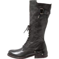Felmini VERDY Kozaki sznurowane vega mali. Czarne buty zimowe damskie Felmini, z materiału. Za 929,00 zł.