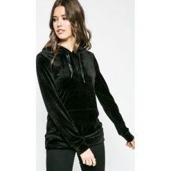 Fresh Made - Bluza. Czarne bluzy rozpinane damskie Fresh Made, l, z elastanu, z kapturem. W wyprzedaży za 79,90 zł.