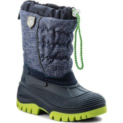 Buty zimowe chłopięce: Śniegowce CMP – Kids Hanki Mel 3Q48064MK Nautico Mel. N946