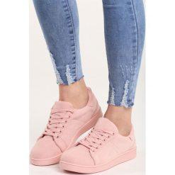 Różowe Buty Sportowe Mr Hairy. Czerwone buty sportowe damskie marki Born2be, z materiału. Za 59,99 zł.