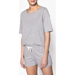 Bielizna damska: Piżama z szortami z materiału w groszki