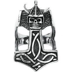 Sygnety męskie: Vikings Thors Hammer Pierścień standard
