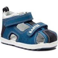 Sandały BARTEK - 011691-1-1P1 II Niebiesko Szary 1. Niebieskie sandały męskie skórzane marki Bartek. Za 139,00 zł.