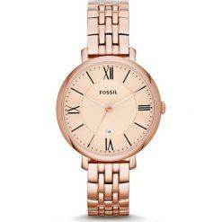 FOSSIL - Zegarek ES3435. Różowe zegarki damskie Fossil, szklane. Za 479,90 zł.