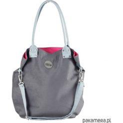 Torebka szara Light Blue. Czarne torebki klasyczne damskie marki KIPSTA, m, z elastanu, z długim rękawem, na fitness i siłownię. Za 169,00 zł.