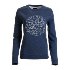 Bluzy rozpinane damskie: Pepe Jeans Bluza Damska Patri L Ciemnoniebieski