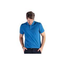 T-shirt polo męski gładki. Niebieskie koszulki polo TXM, m. Za 14,99 zł.