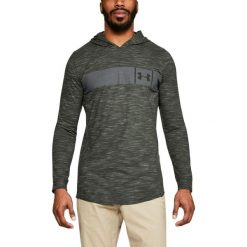 Bluzy męskie: Under Armour Bluza męska Sportstyle Core Hoodie zielona r. XS (1306490-357)