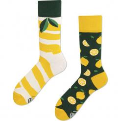 Many Mornings - Skarpety The Lemons. Żółte skarpetki męskie marki B'TWIN, m, z elastanu, z długim rękawem. Za 24,90 zł.