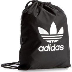 Plecak adidas - Gymsack Trefoil BK6726 Black. Czarne plecaki męskie marki Adidas, z materiału, sportowe. Za 54,95 zł.