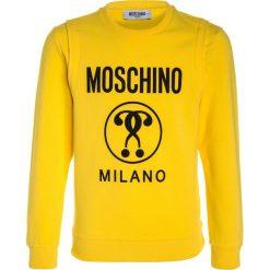 MOSCHINO Bluza yellow. Żółte bluzy chłopięce MOSCHINO, z bawełny. W wyprzedaży za 367,20 zł.