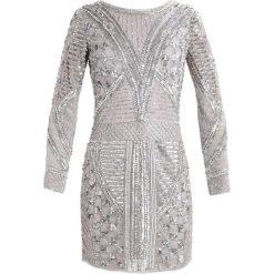 Sukienki hiszpanki: Lace & Beads HYACINTH Sukienka koktajlowa light grey