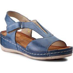 Rzymianki damskie: Sandały WASAK – 0470 Jeans
