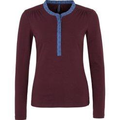 """Bluzki asymetryczne: Koszulka """"Adela"""" w kolorze ciemnofioletowym"""