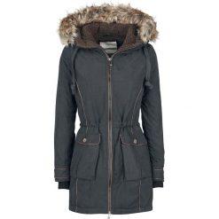 Płaszcze damskie: Urban Surface Fake Fur Winter Coat Płaszcz damski czarny