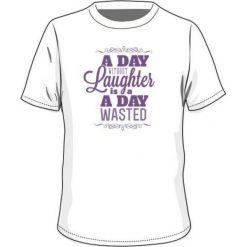 T-shirty chłopięce: BEJO Koszulka dziecięca FUN JRG White/ Purple Heart r. 140
