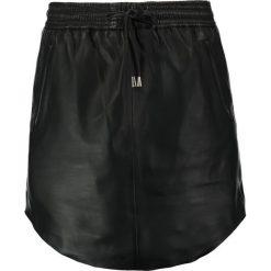 Minispódniczki: Second Female PRIL Spódnica skórzana black