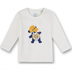 Koszulka w kolorze białym. Białe t-shirty chłopięce z długim rękawem marki UP ALL NIGHT, z bawełny. W wyprzedaży za 37,95 zł.