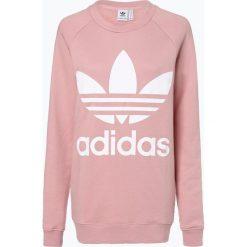Adidas Originals - Damska bluza nierozpinana, różowy. Szare bluzy damskie marki adidas Originals, na co dzień, z nadrukiem, z bawełny, casualowe, z okrągłym kołnierzem, proste. Za 359,95 zł.