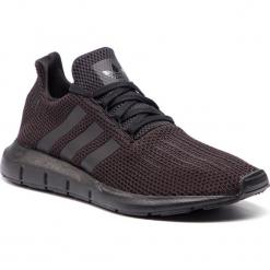 Buty adidas - Swift Run AQ0863 CblackCblack/Ftwwht. Czarne buty sportowe męskie Adidas, z materiału. Za 379,00 zł.