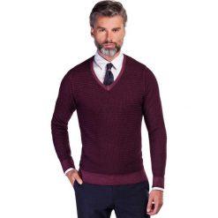Sweter MANUELE SWTS000145. Czarne swetry klasyczne męskie marki Polo Club C.H..A, m, dekolt w kształcie v. Za 399,00 zł.