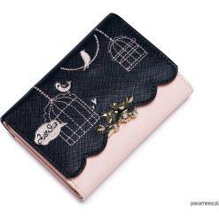 Portfele damskie: Krótki dziewczęcy portfel z letniej kolekcji