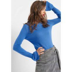 Sweter z domieszką kaszmiru. Niebieskie swetry klasyczne damskie marki Orsay, s, z dzianiny. W wyprzedaży za 80,00 zł.