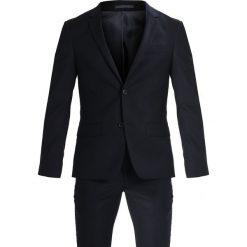 Bruun & Stengade HARDMANN SLIM FIT Garnitur black. Niebieskie garnitury marki Bruun & Stengade, z elastanu. Za 1049,00 zł.