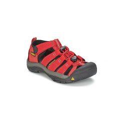 Sandały sportowe Dziecko  Keen  KIDS NEWPORT H2. Czerwone buty sportowe chłopięce marki Keen. Za 194,30 zł.