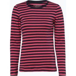 Brookshire - Damska koszulka z długim rękawem, czerwony. Czarne t-shirty damskie marki brookshire, m, w paski, z dżerseju. Za 89,95 zł.