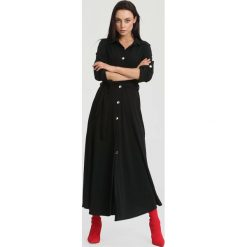 Sukienki: Czarna Sukienka Determination