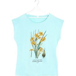 T-shirty damskie: Jasnoniebieski T-shirt Rush Daffodil