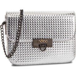 Torebka NOBO - NBAG-F0040-C022  Srebrny. Szare torebki klasyczne damskie Nobo, ze skóry ekologicznej. W wyprzedaży za 119,00 zł.