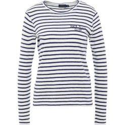 Bluzki damskie: Polo Ralph Lauren Bluzka z długim rękawem cruise navy/nevis