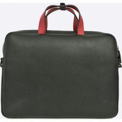 Calvin Klein - Torba. Szare torby na laptopa marki Calvin Klein, w paski, z materiału. W wyprzedaży za 599,90 zł.
